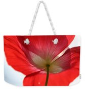 Poppy Close Up Weekender Tote Bag