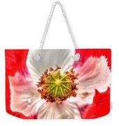 Poppy Flower Weekender Tote Bag