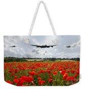 Poppy Fly Past Weekender Tote Bag