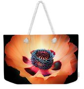 Poppy In The Darkness Weekender Tote Bag