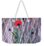 Poppy In The Wild Weekender Tote Bag