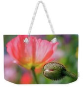 Poppy In Waiting Weekender Tote Bag