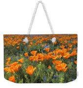 Poppy Perfection Weekender Tote Bag