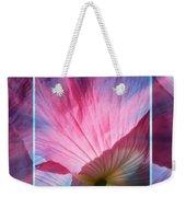 Poppy Rays Collage Weekender Tote Bag