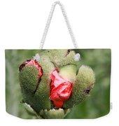 Poppybud Weekender Tote Bag