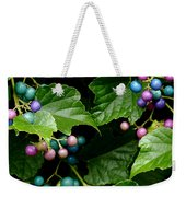 Porcelain Berries Weekender Tote Bag
