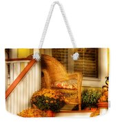 Porch - In The Light Of Autumn Weekender Tote Bag