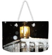 Porch Lamp Weekender Tote Bag
