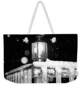 Porch Light Bw Weekender Tote Bag