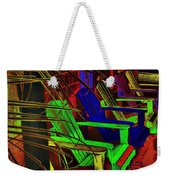 Neon Porch Perches Weekender Tote Bag
