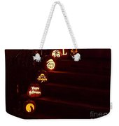 Porch Pumpkins Weekender Tote Bag