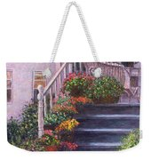 Porch With Watering Cans Weekender Tote Bag
