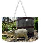 Pork Barrel Weekender Tote Bag