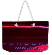 Porsche 911turbo S Weekender Tote Bag