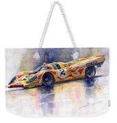 Porsche 917 K Martini Kyalami 1970 Weekender Tote Bag