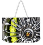 Porsche 918 Wheel Weekender Tote Bag