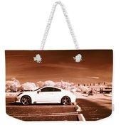 Porsche Car Side Profile Brown Near Infrared  Weekender Tote Bag
