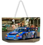 Porsche In The Pits Weekender Tote Bag