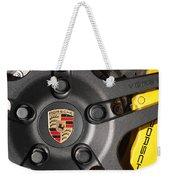 Porsche Vorsteiner Wheel Logo Weekender Tote Bag