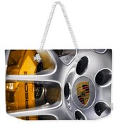 Porsche Wheel Weekender Tote Bag
