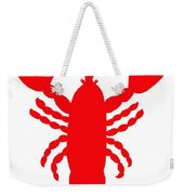 Port Clyde Maine Lobster With Feelers 201300605 Weekender Tote Bag