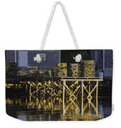 Port Clyde Pier On The Coast Of Maine Weekender Tote Bag