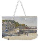 Port En Bessin Weekender Tote Bag