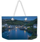Port Issac Night Weekender Tote Bag