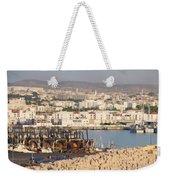 Port Of Agadir Morocco Weekender Tote Bag
