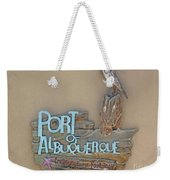 Port Of Albuquerque Weekender Tote Bag