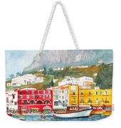 Port Of Capri Weekender Tote Bag