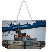 Port Of Charleston Weekender Tote Bag