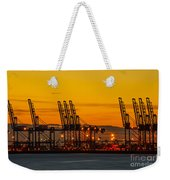 Port Of Felixstowe Weekender Tote Bag by Svetlana Sewell