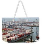 Port Of Long Beach Weekender Tote Bag