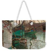 Port Of Trieste Weekender Tote Bag by Egon Schiele