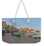 Port Of Volendam Weekender Tote Bag