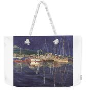 Stary  Port Orchard Night Weekender Tote Bag