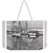Reflections Of Port Orchard Washington Weekender Tote Bag