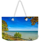 Port Sanilac Scenic Turnout Weekender Tote Bag