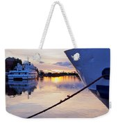Port Sunrise Weekender Tote Bag