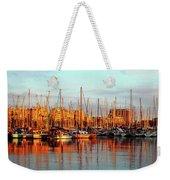 Port Vell - Barcelona Weekender Tote Bag