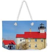 Port Washington Light Station  Weekender Tote Bag