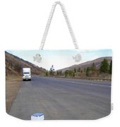 Porta Potty Rest Area Weekender Tote Bag