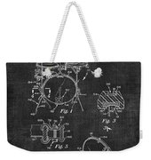 Portable Drum Set Patent 037 Weekender Tote Bag