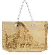 Porte St Denis, Paris Weekender Tote Bag