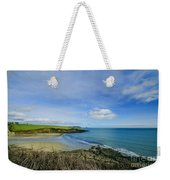 Porthcurnik Beach Cornwall Weekender Tote Bag