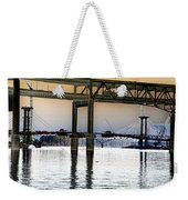 Portland Bridges Weekender Tote Bag