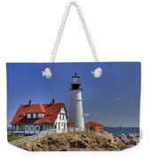Portland Head Light Weekender Tote Bag by Joann Vitali