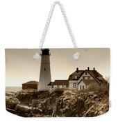 Portland Head Lighthouse Weekender Tote Bag by Joann Vitali