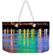 Portland Lights 22971 F Weekender Tote Bag